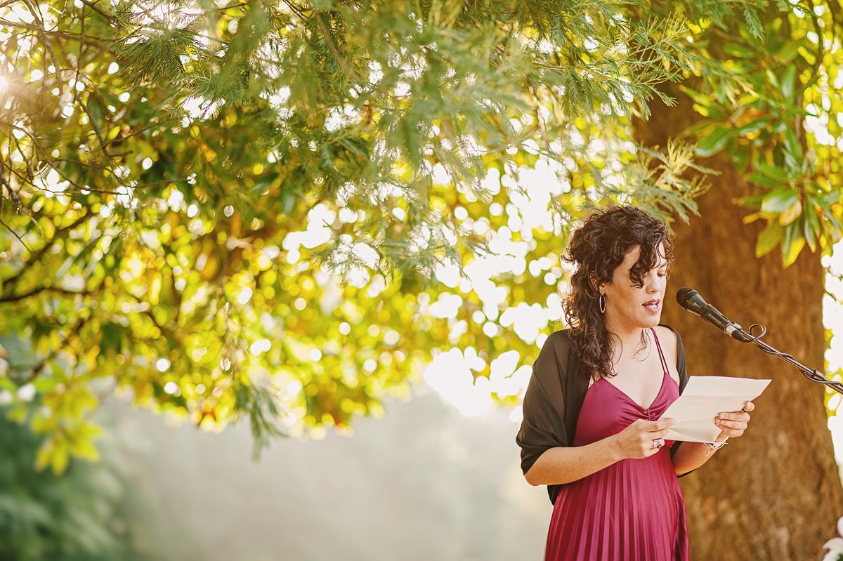 Monika Zaldo fotógrafa de boda al aire libre