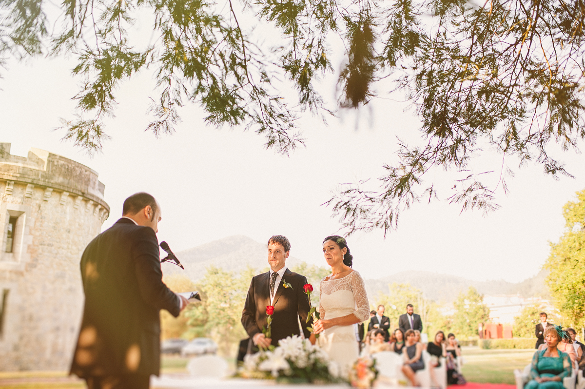 Boda al aire libre - wedding in Spain