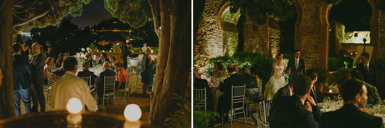Destination wedding in Spain, Castillo de santa catalina, Málaga
