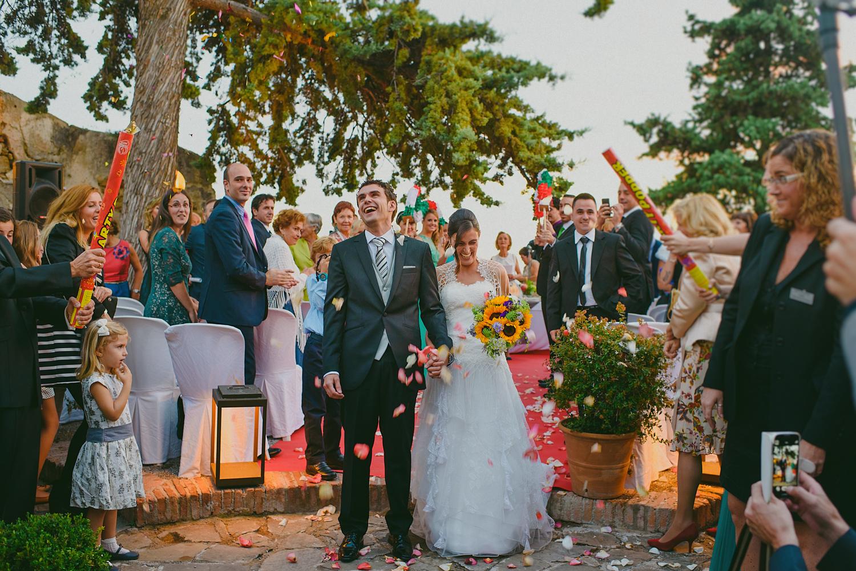 Destination wedding in Santa Catalina Castle