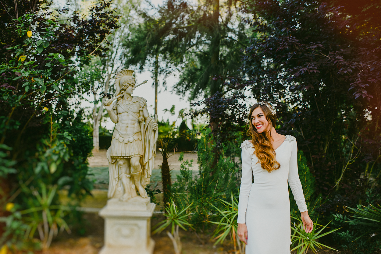 Fotografía de bodas realizada por Monika Zaldo