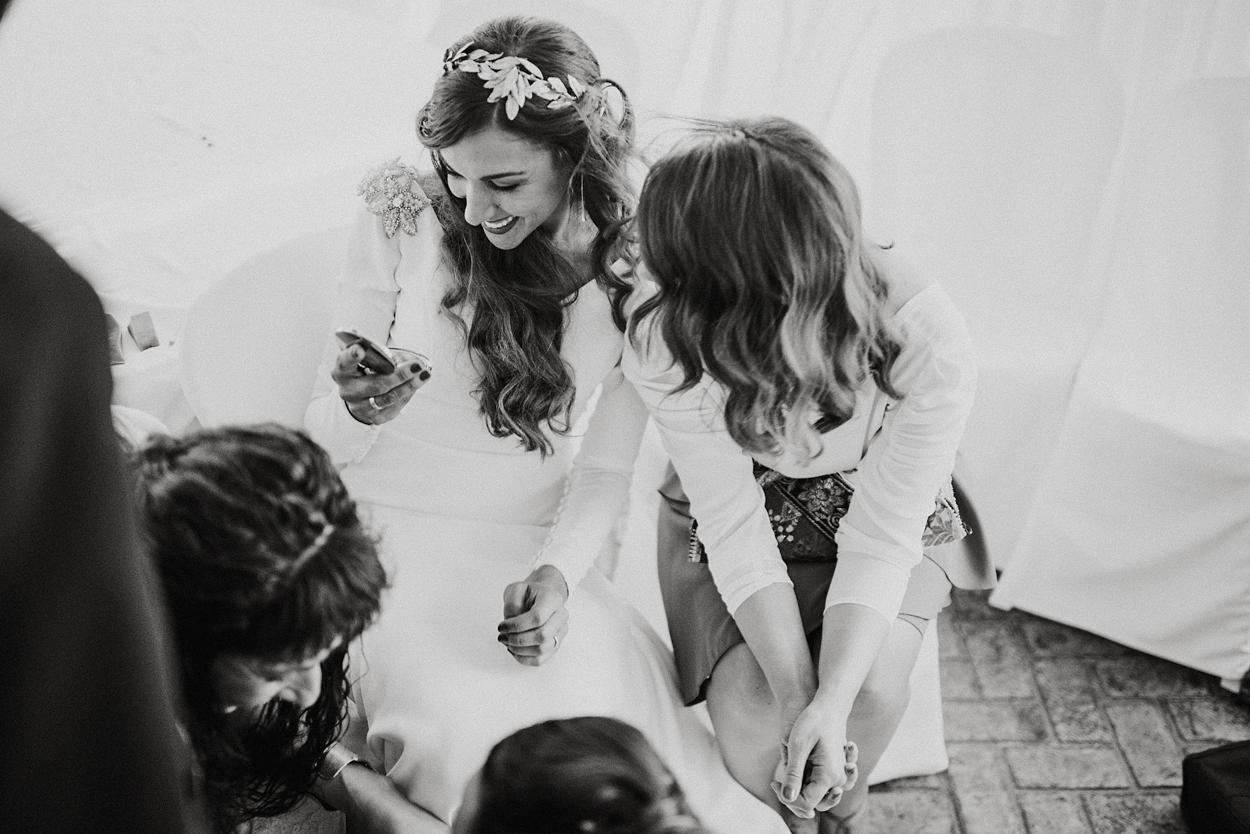 Fotografía de boda realizada por monika zaldo