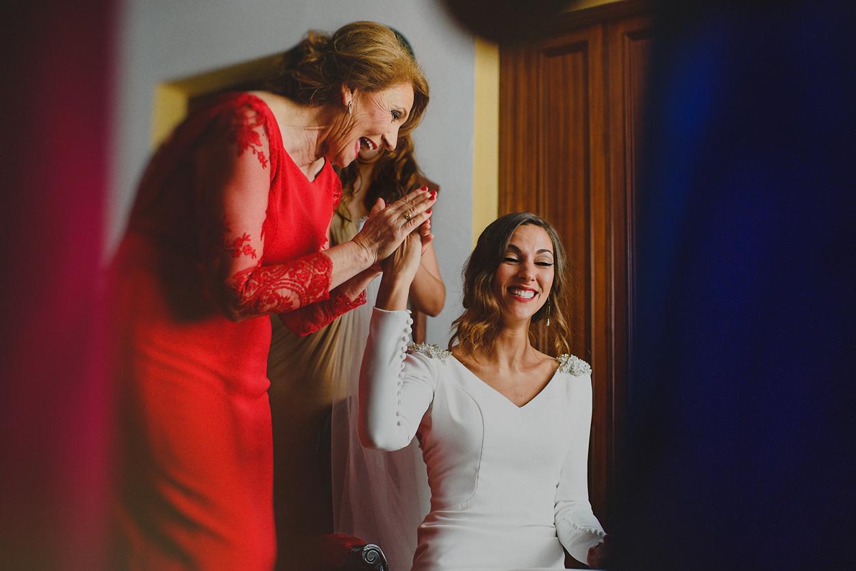 Vestido de novia en Sevilla