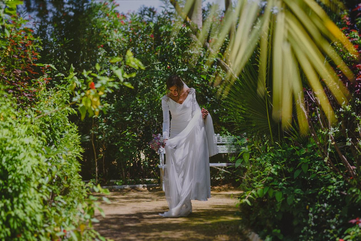 vestido de novia finca santa clotilde