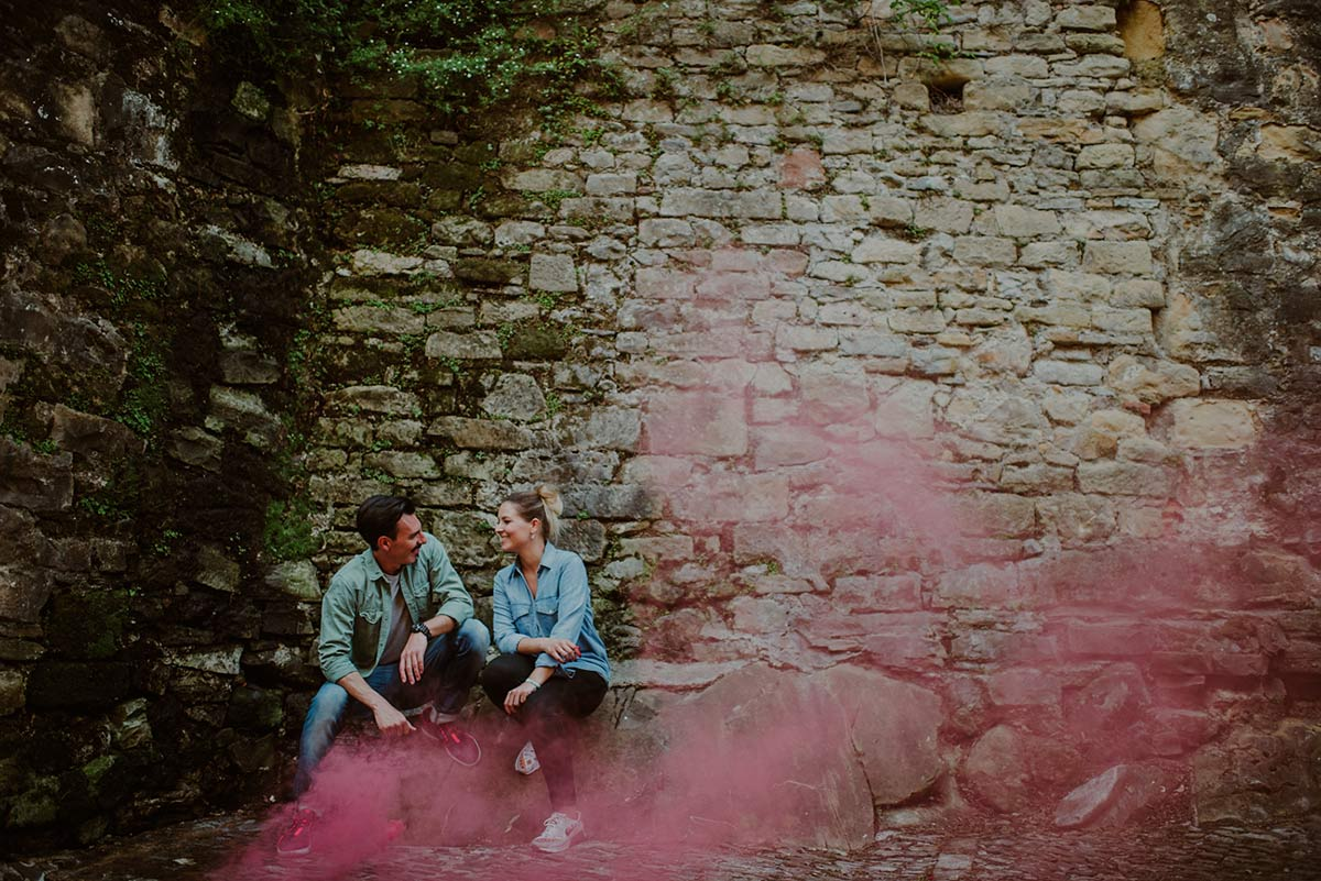Engagement photography in Donostia, the Basque Country.