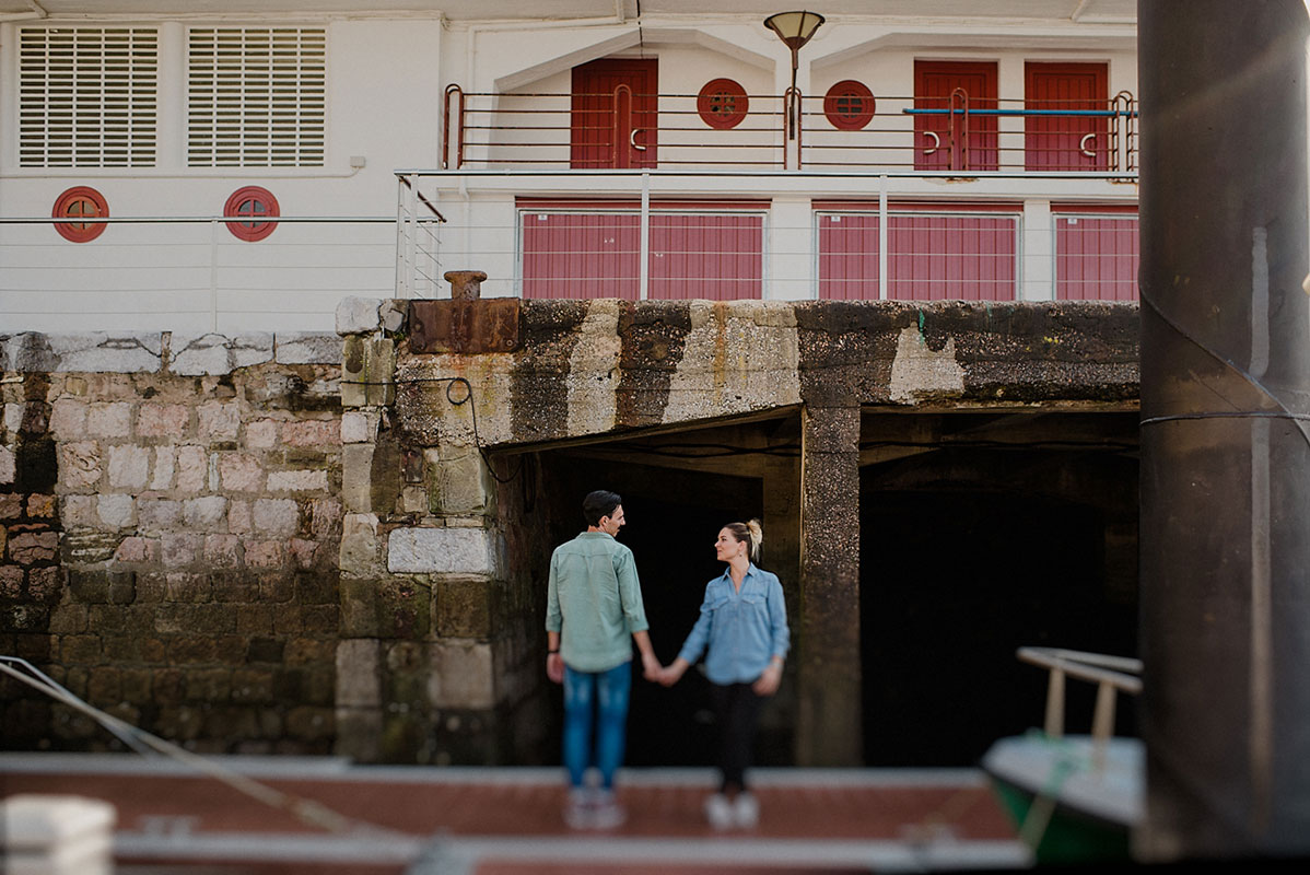 Engagement photographer in the Basque Country