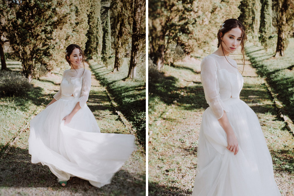 vestidos de novia en Bilbao, Paredero Quiros