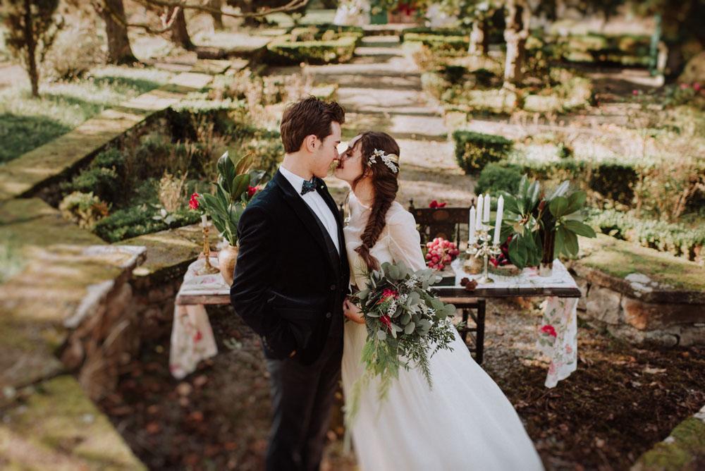 boda en el palacio de san miguel, bizkaia por Monika Zaldo