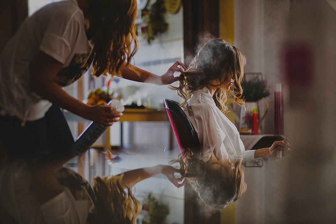 Getting Ready - Wedding in Spain