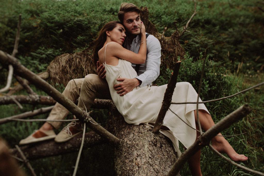 fotógrafos de bodas bilbao. Preboda playa barrika